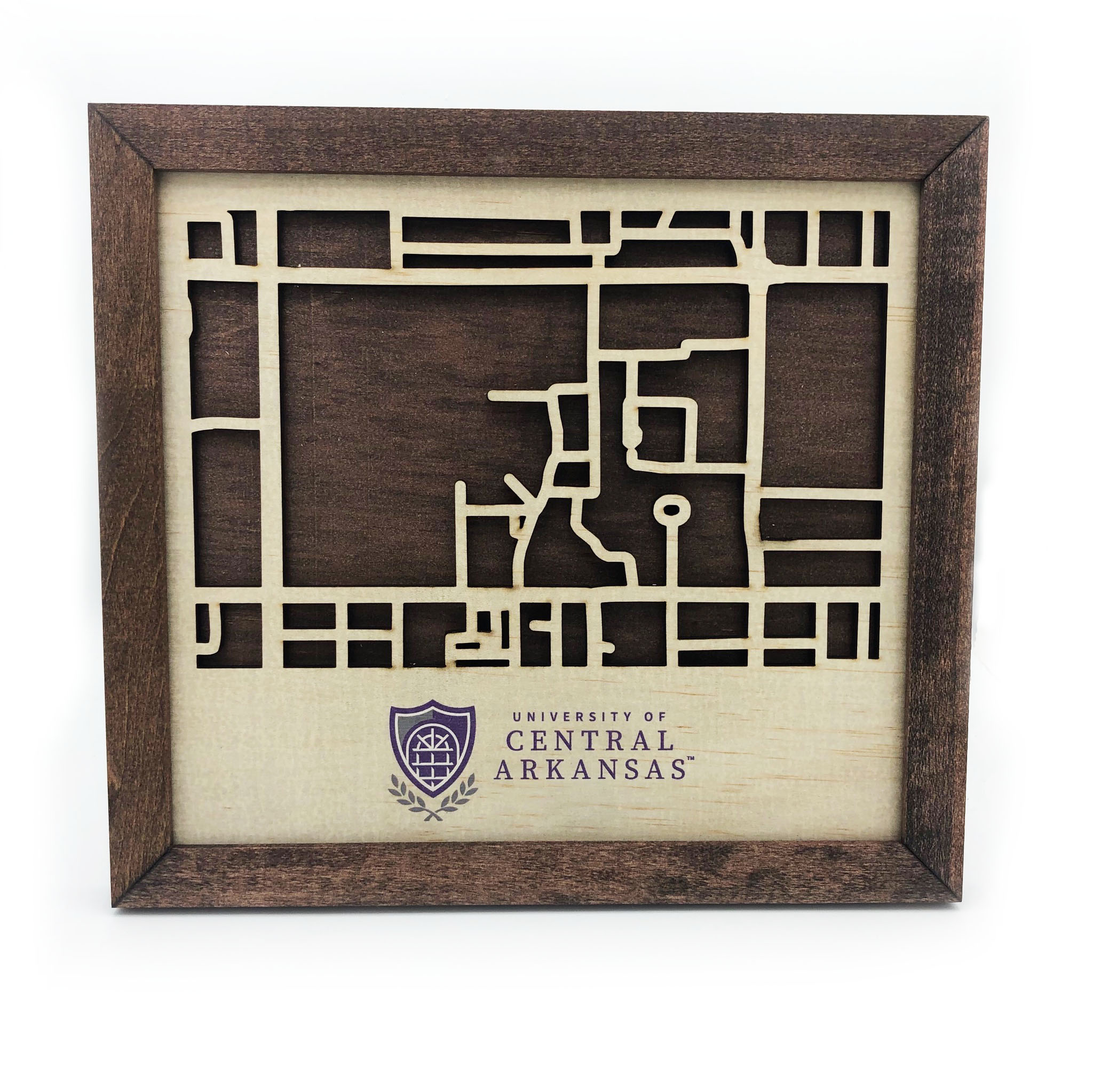 Wooden Campus Map