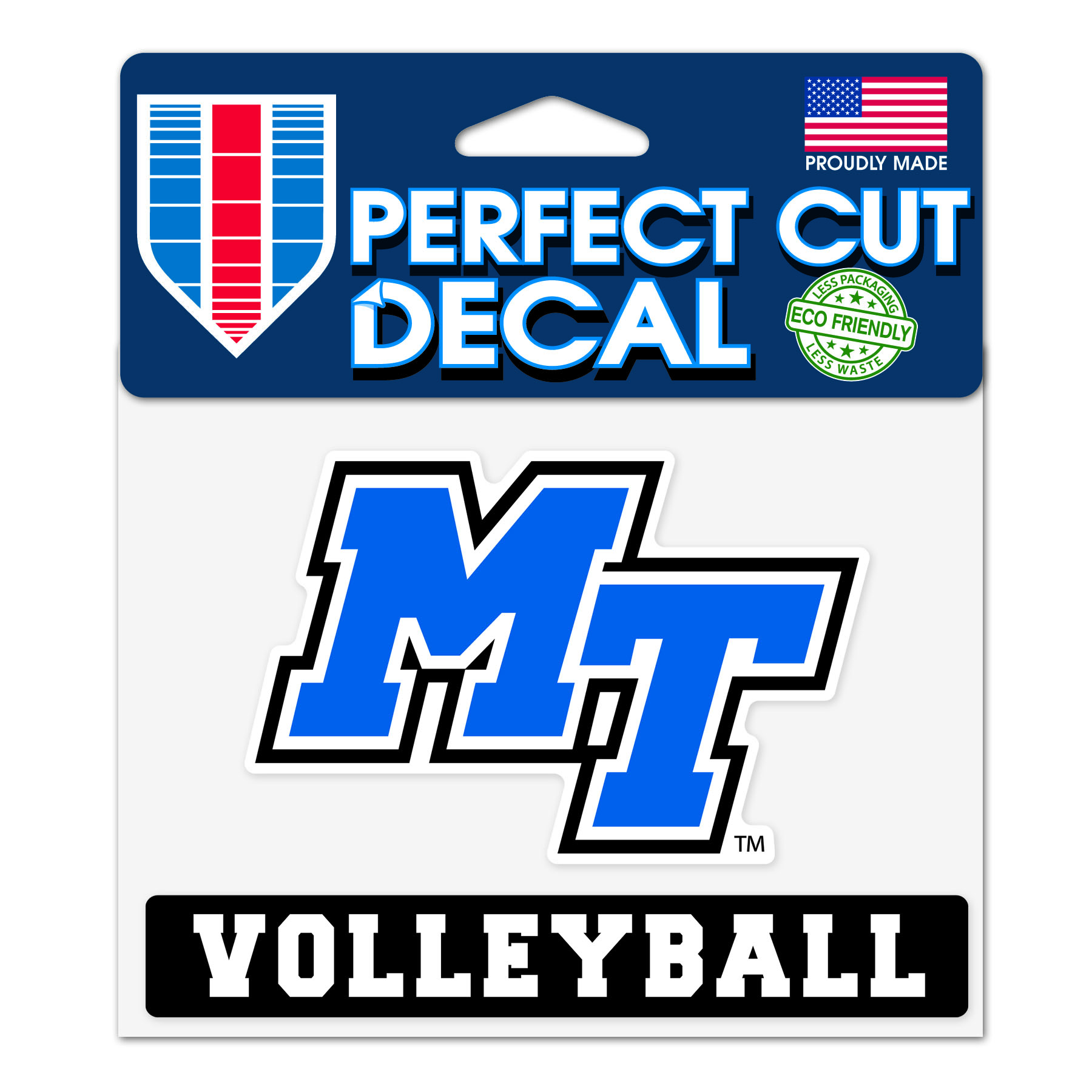 MT Volleyball Slogan Decal