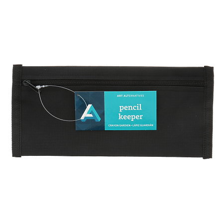 Black Pencil Keeper Pouch