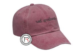 Red Wolves Pigment Dyed Cap