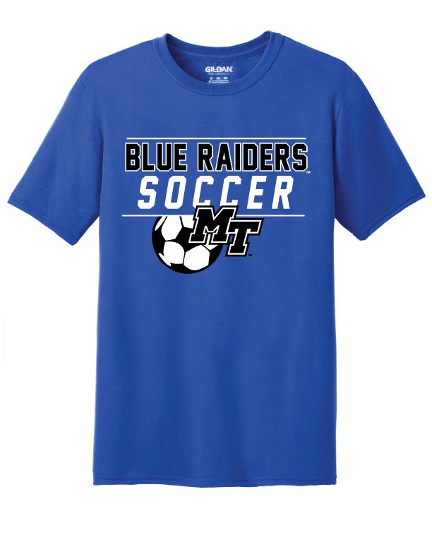 Blue Raiders Soccer Shirt