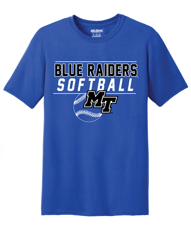 Blue Raiders Softball Shirt