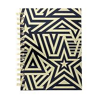 Gold Star Wirebound Fashion Journal