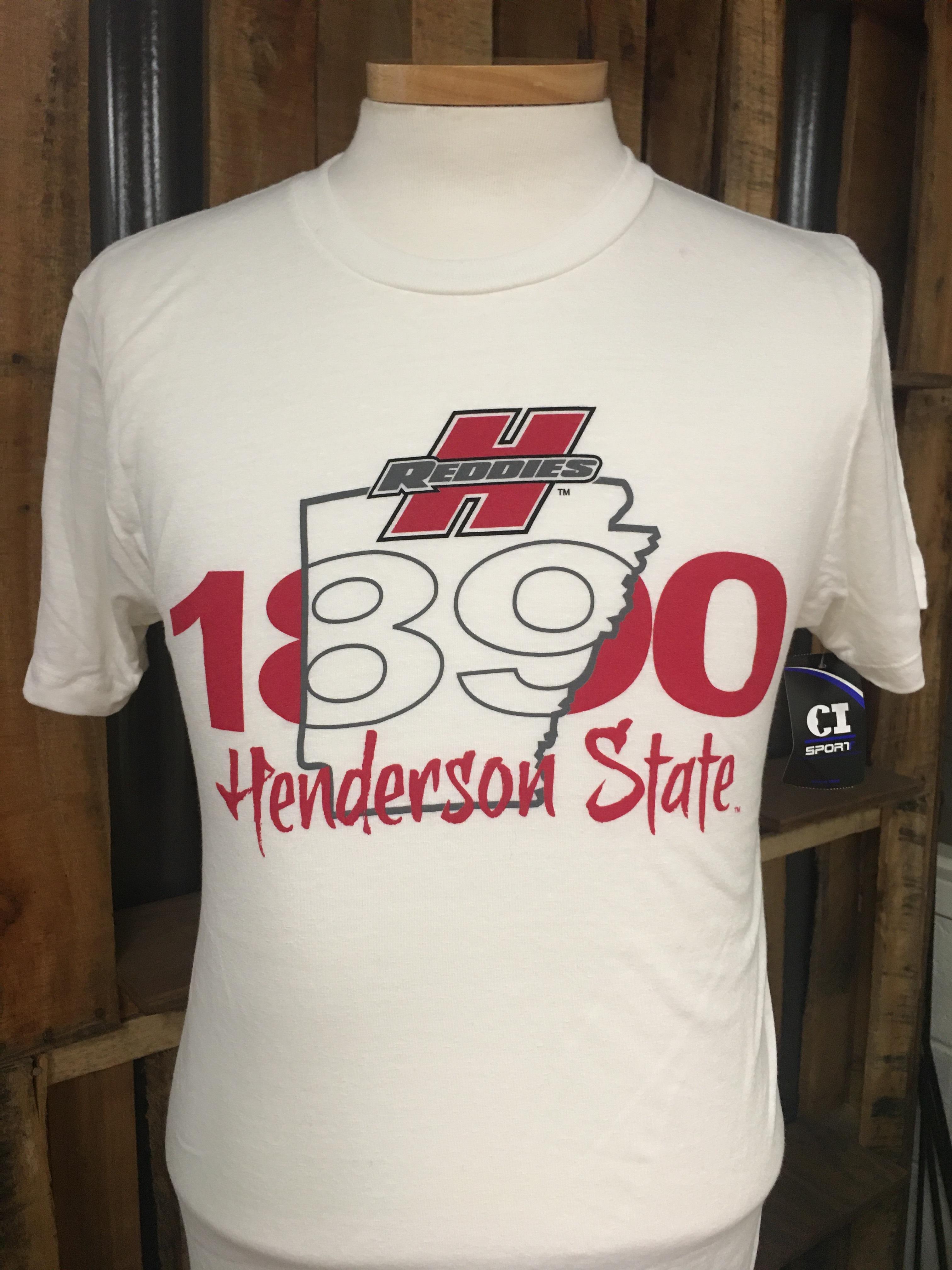 Henderson State Reddies 1890 Erosion Short Sleeve Tee