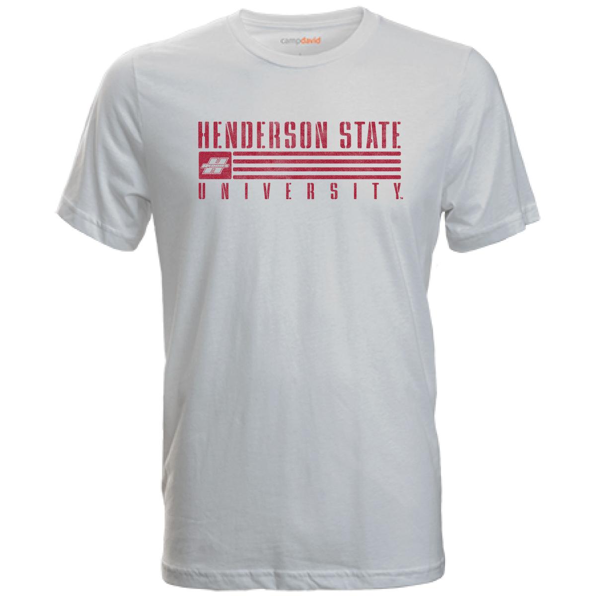 Henderson State University Reddies Flag Cruiser Short Sleeve T-Shirt