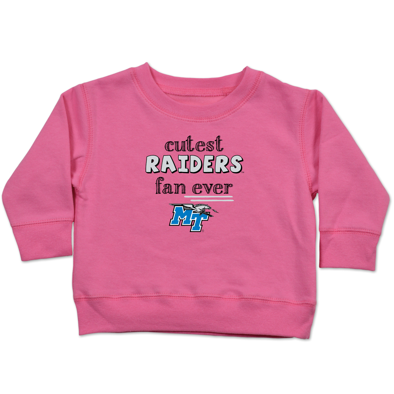 Cutest Raiders Fan Ever Infant Crew Shirt