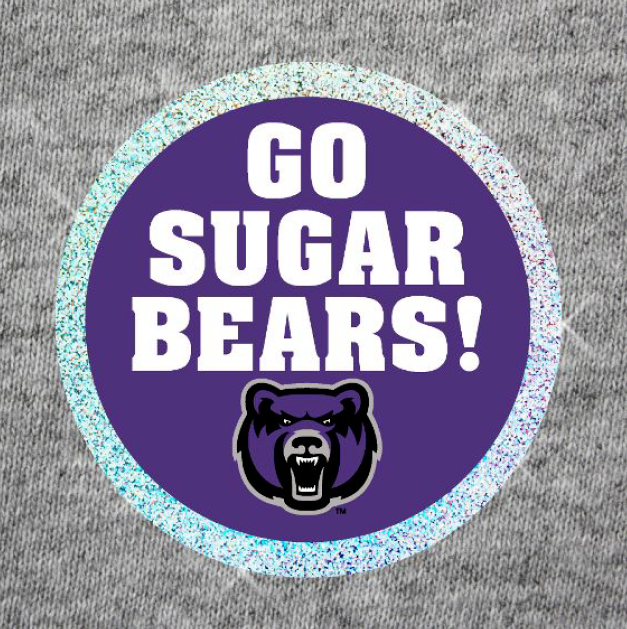 Go Sugar Bears Sparkle Button