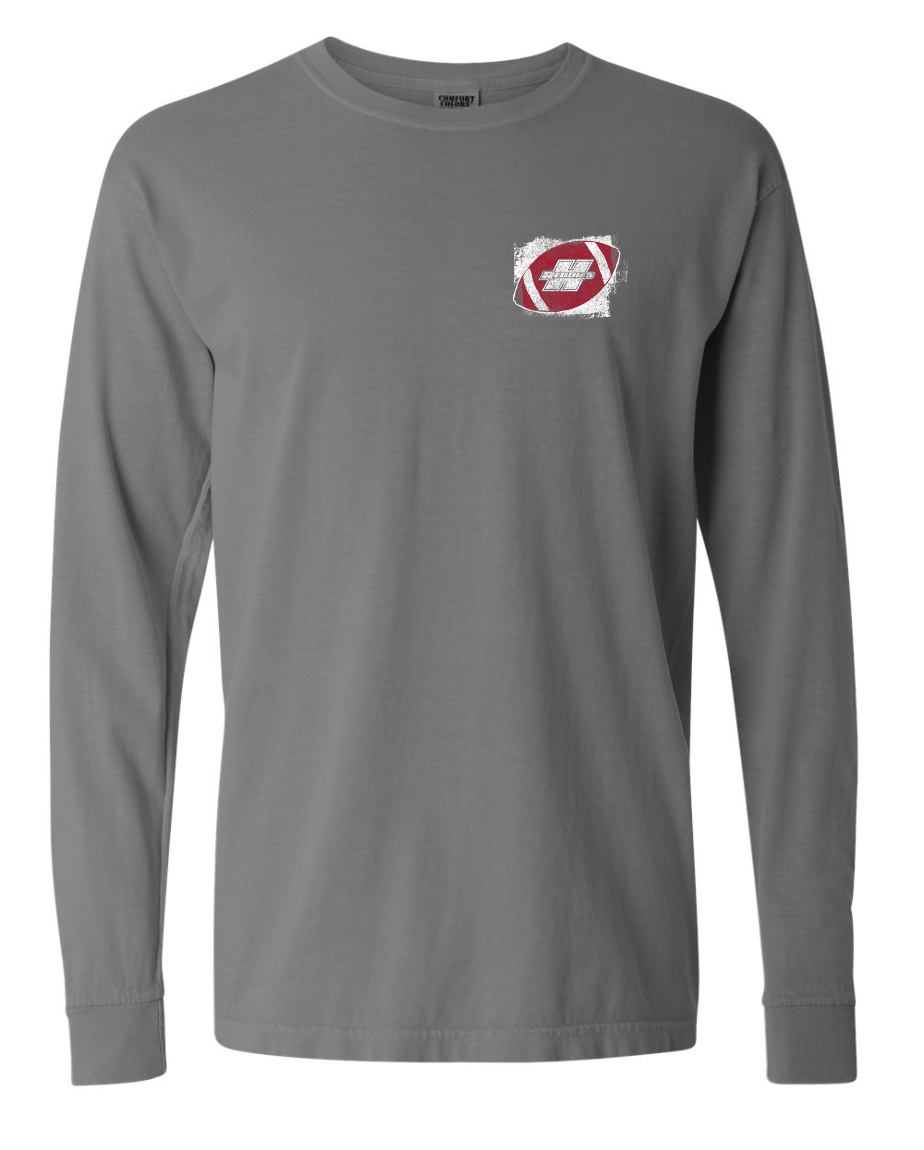 Henderson State Reddies Football End Zone Long Sleeve T-Shirt