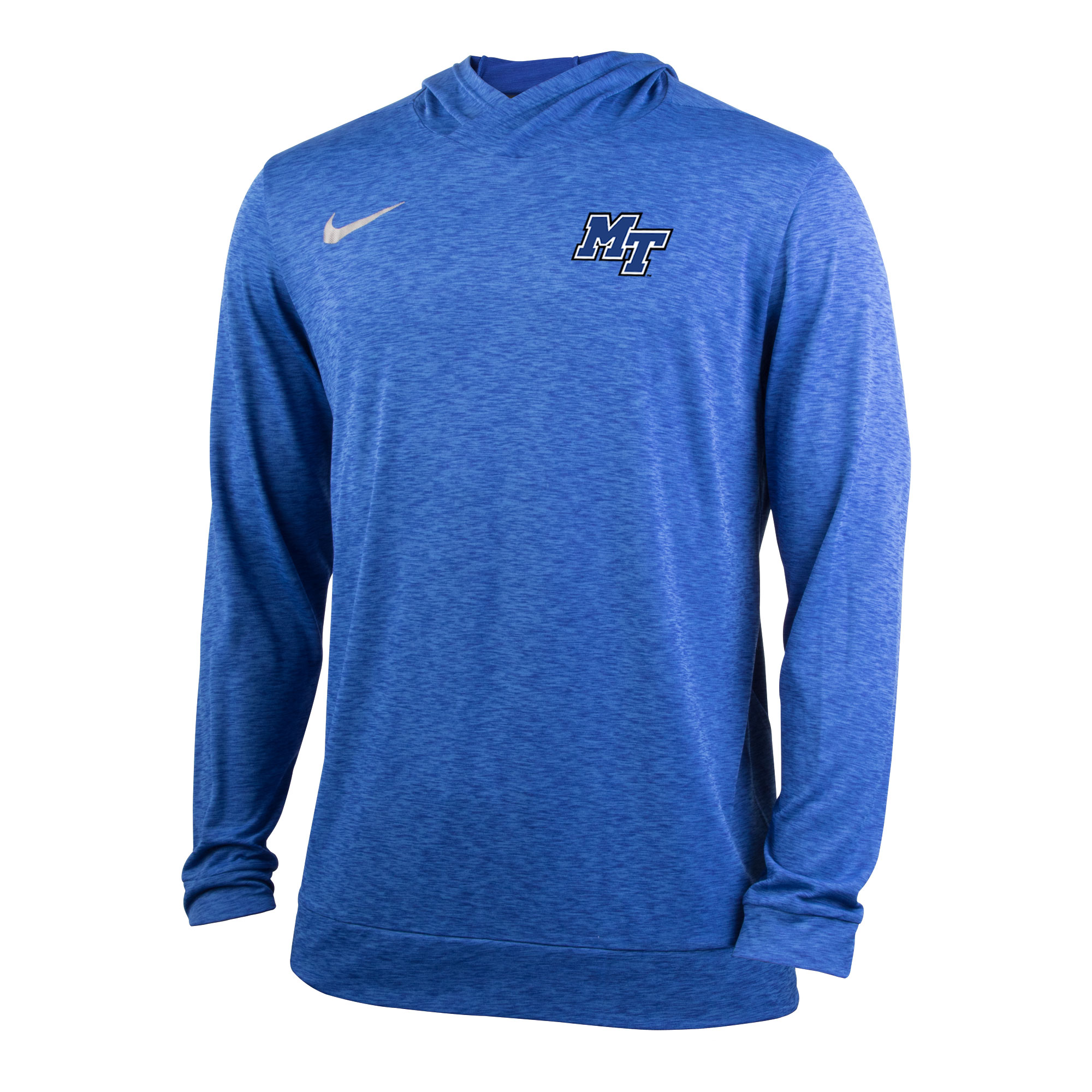 MT Logo Dry Top Long Sleeve Hooded Pullover