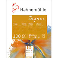 Ingres Pastel Paper Pad 9 Colors