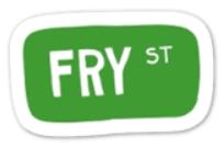 FRY STREET STICKER