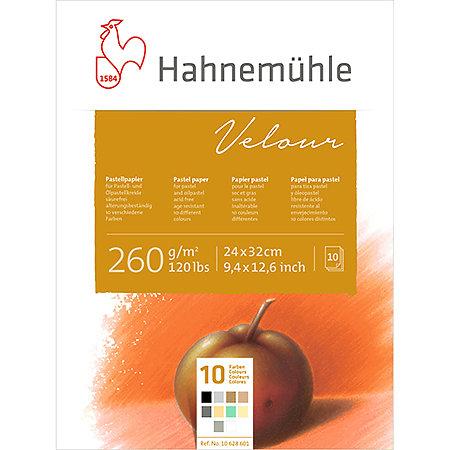 Velour Pastel Paper Pad 9.4 x 12.6