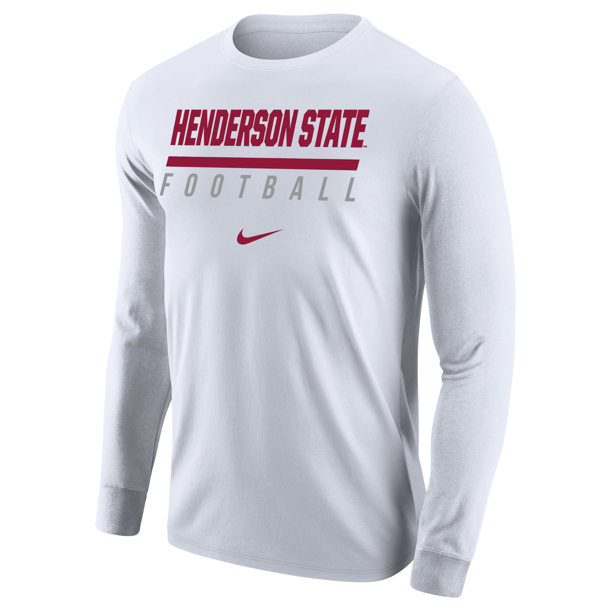 Henderson State Football Nike Long Sleeve T-Shirt