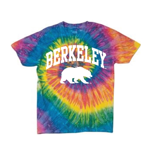 Youth Tie Dye Berkeley Bear Tee