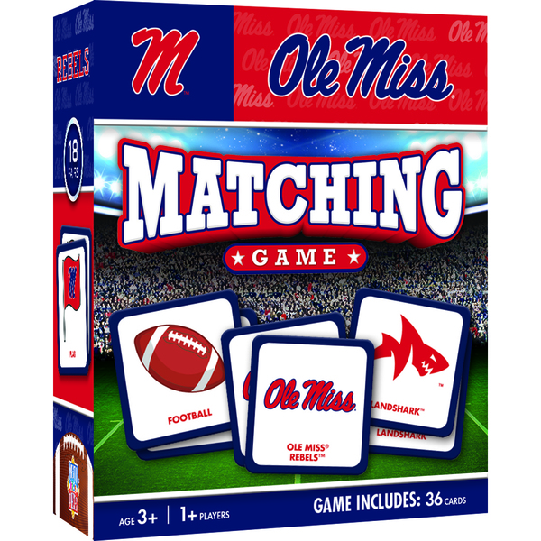 Ole Miss Matching Game 36pc
