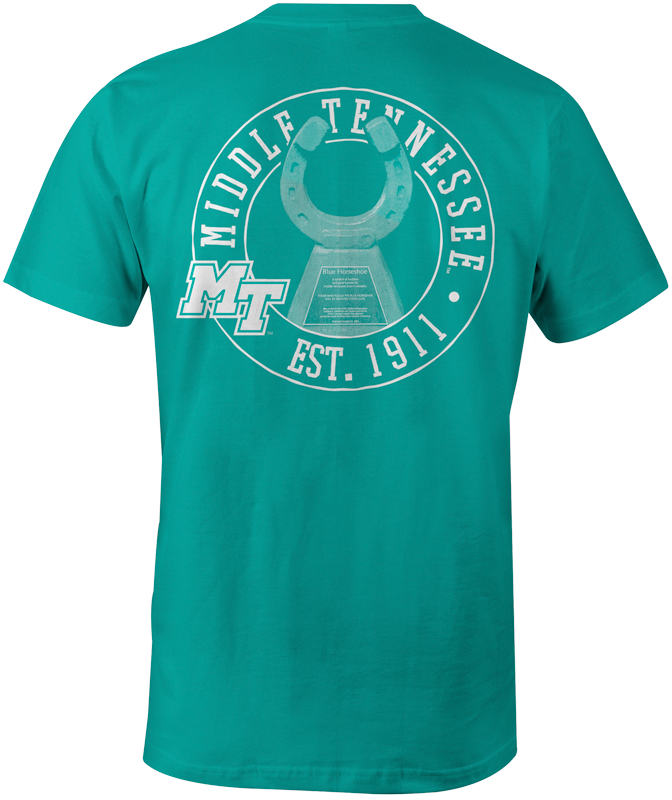 MTSU Horseshoe Comfort Colors Tshirt