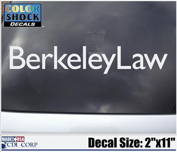 Berkeley Law Decal