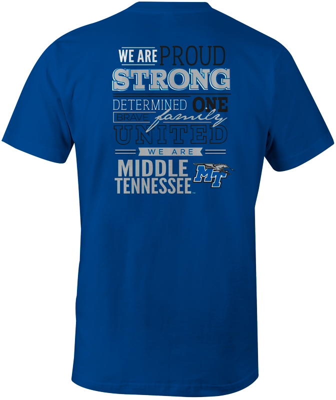We Are Middle Tennessee MT Tshirt