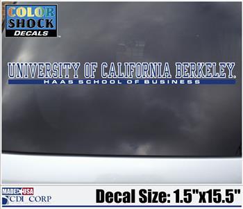 Cal Berkeley Haas School of Business Decal