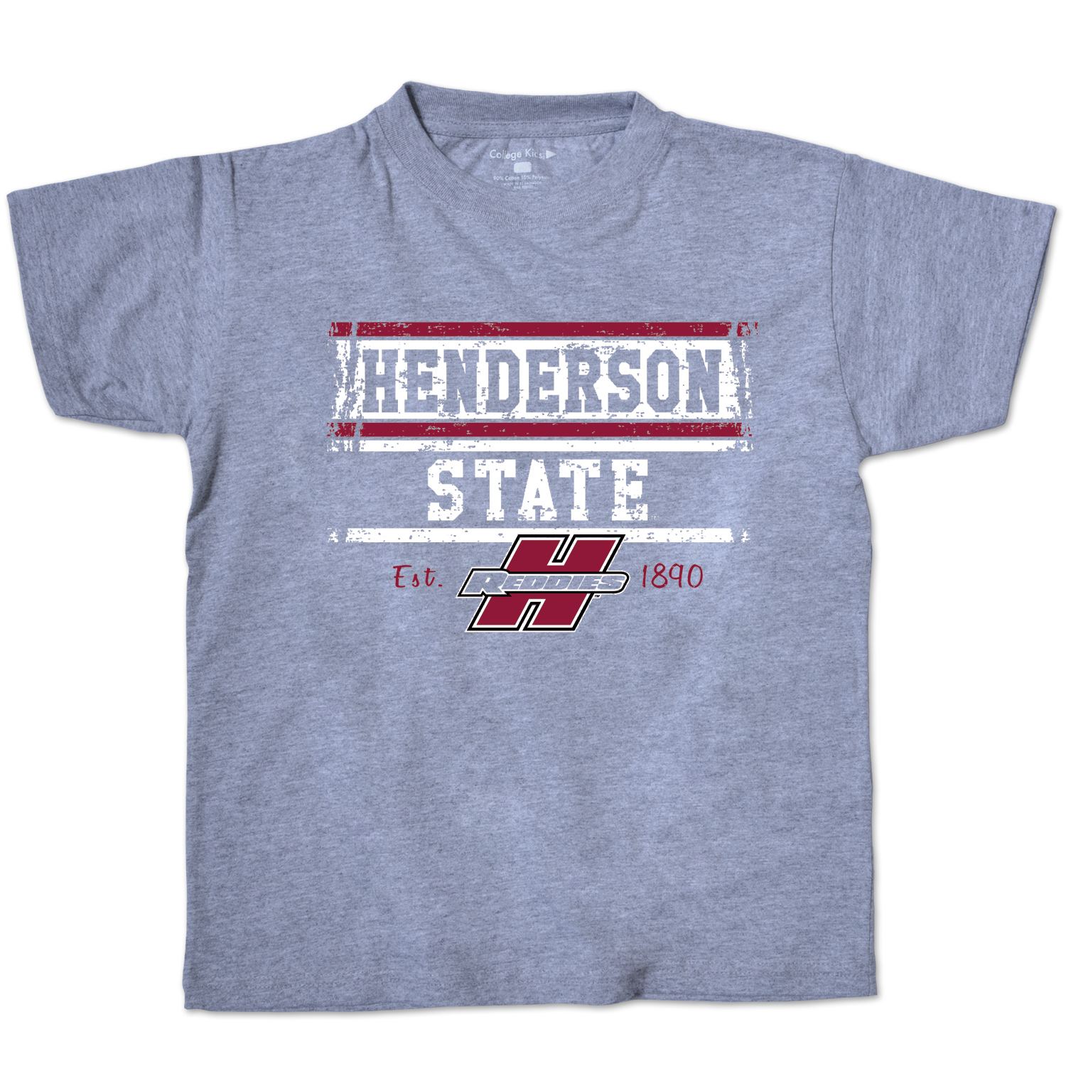 Henderson State Reddies Youth Short Sleeve T-Shirt