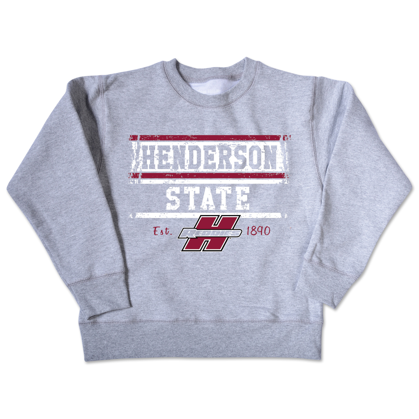 Henderson State Reddies Youth Crew Sweatshirt