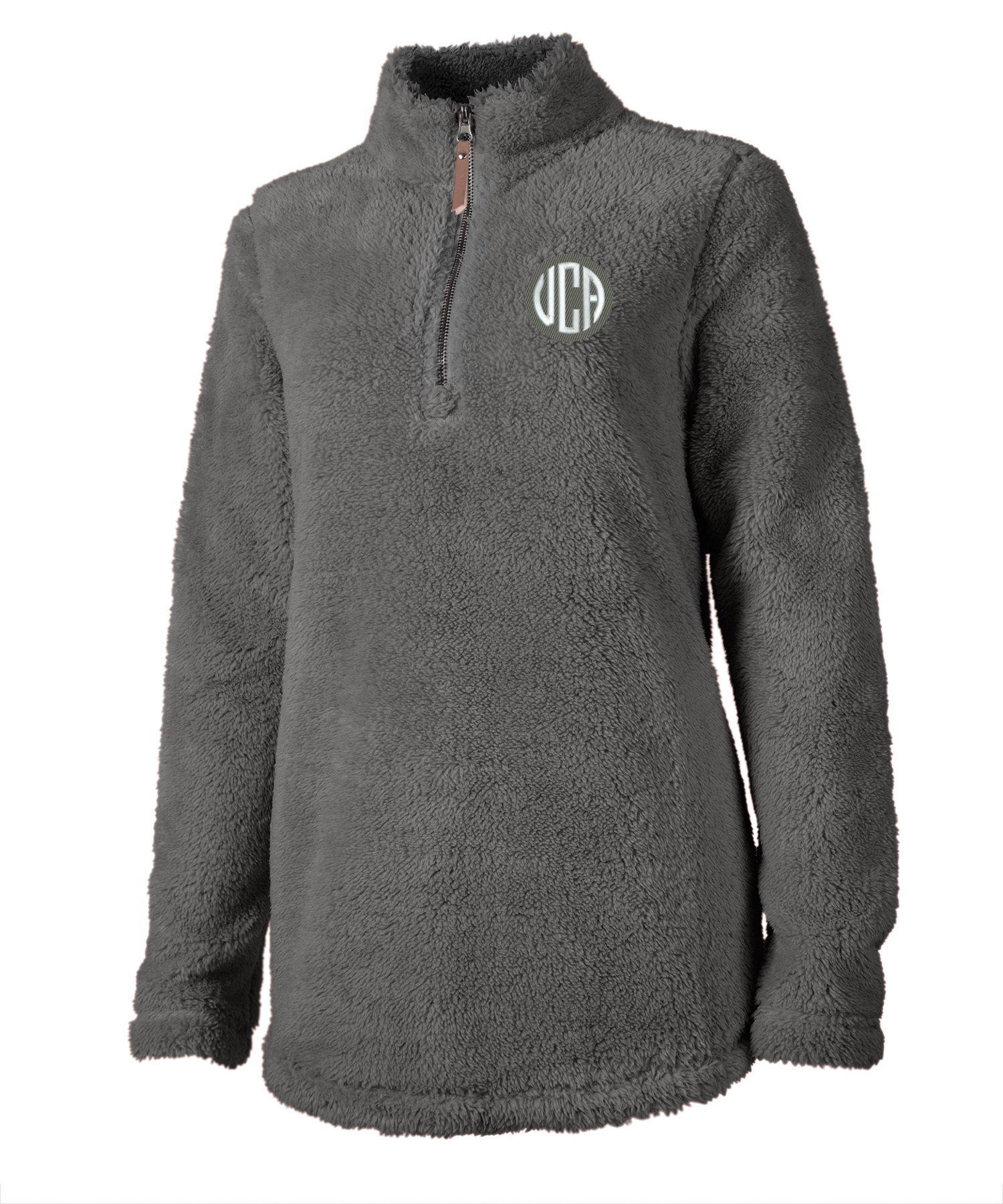 Monogram Fleece Pullover