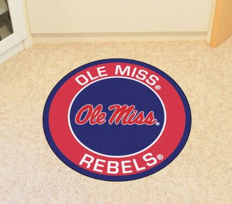 Ole Miss Roundel Mat