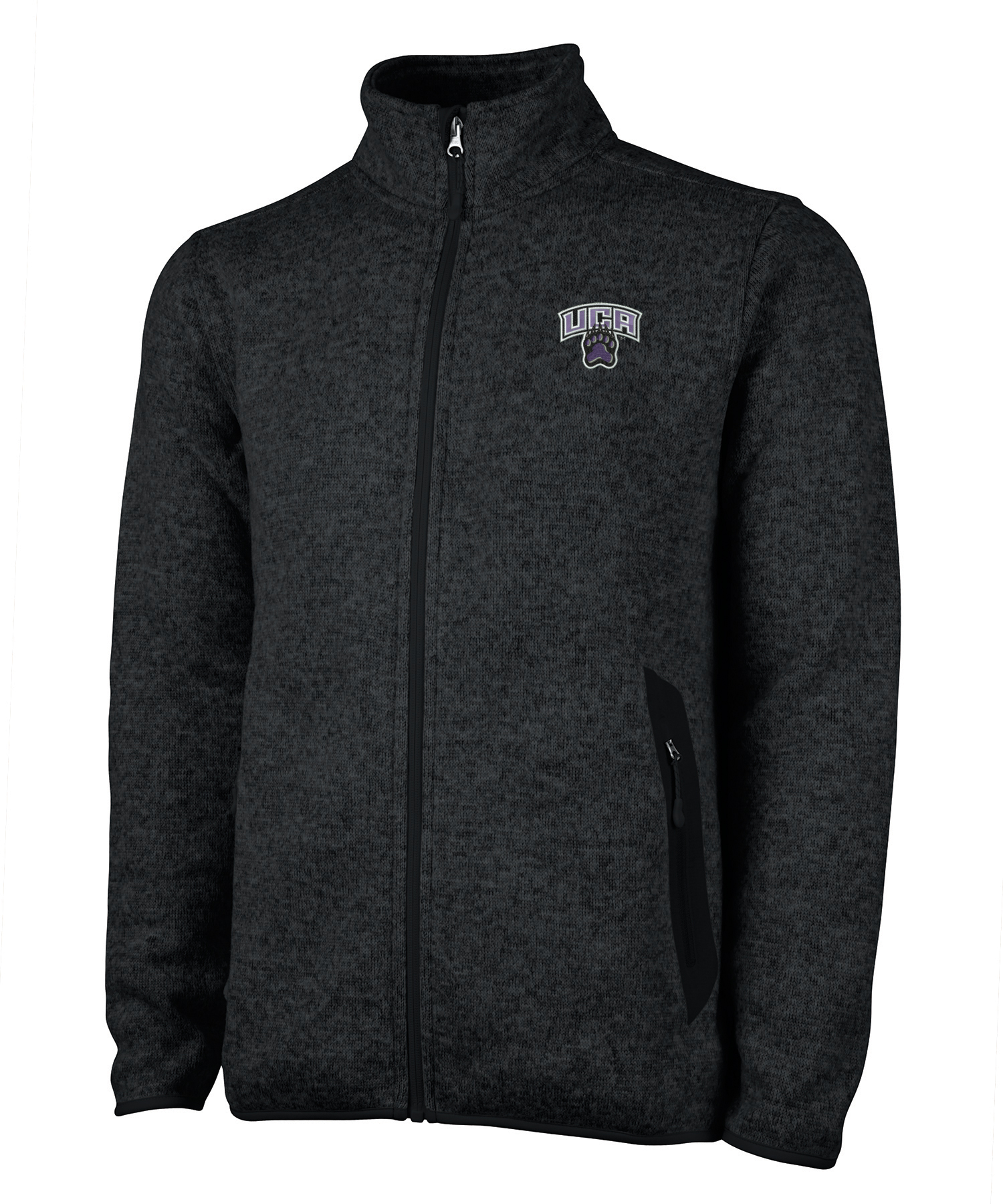 Men's Heathered Fleece Fullzip