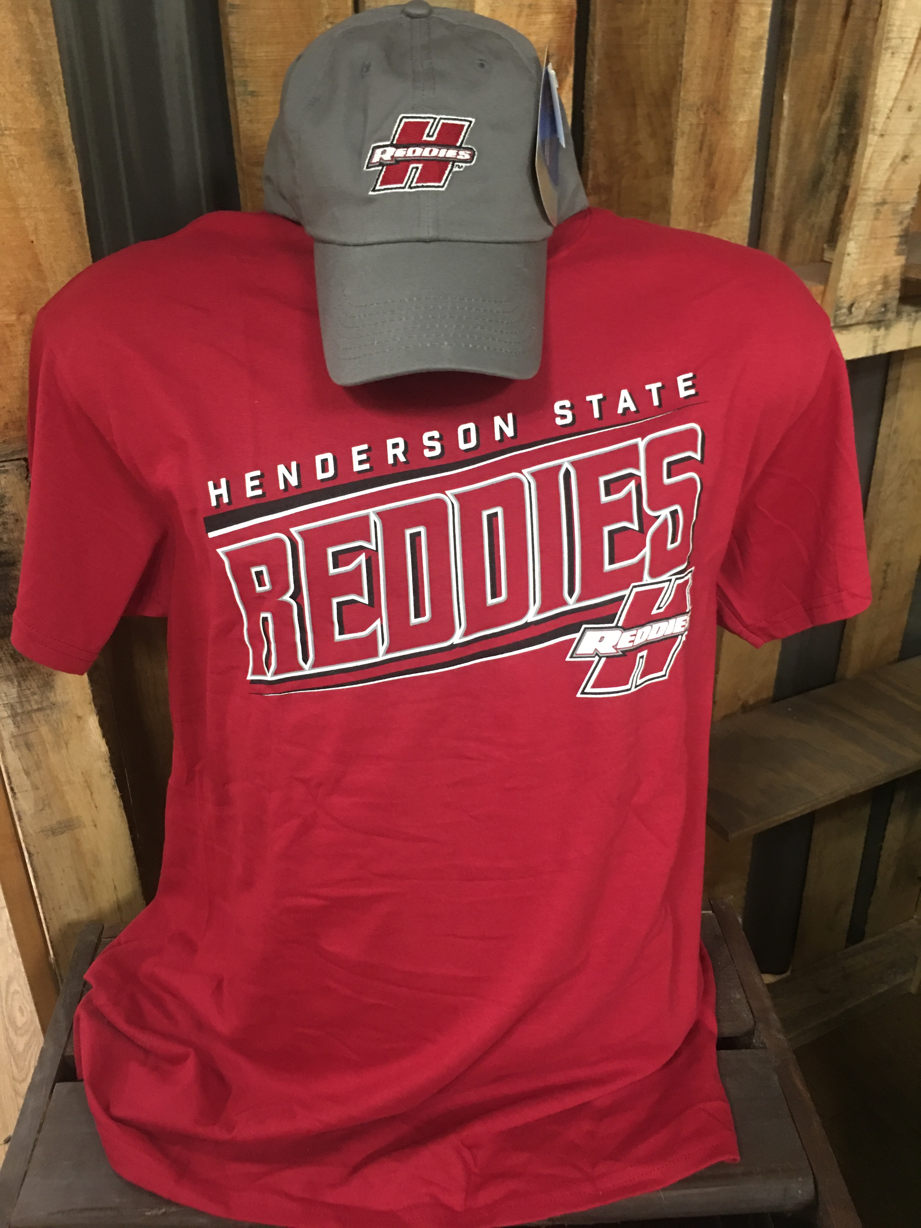 Henderson Reddies Short Sleeve T-Shirt / Hat Combo
