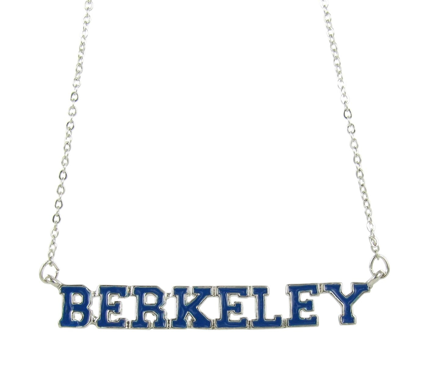 University of California Navy Enamel Berkeley Necklace