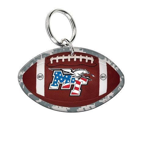 MT Logo OHT Football Acrylic Keychain