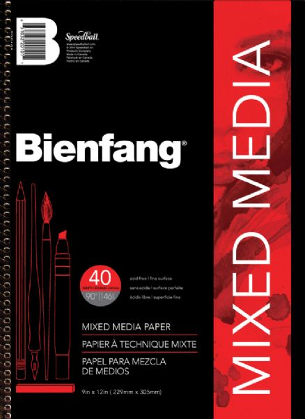 Bienfang Mixed Media Pad 9x12