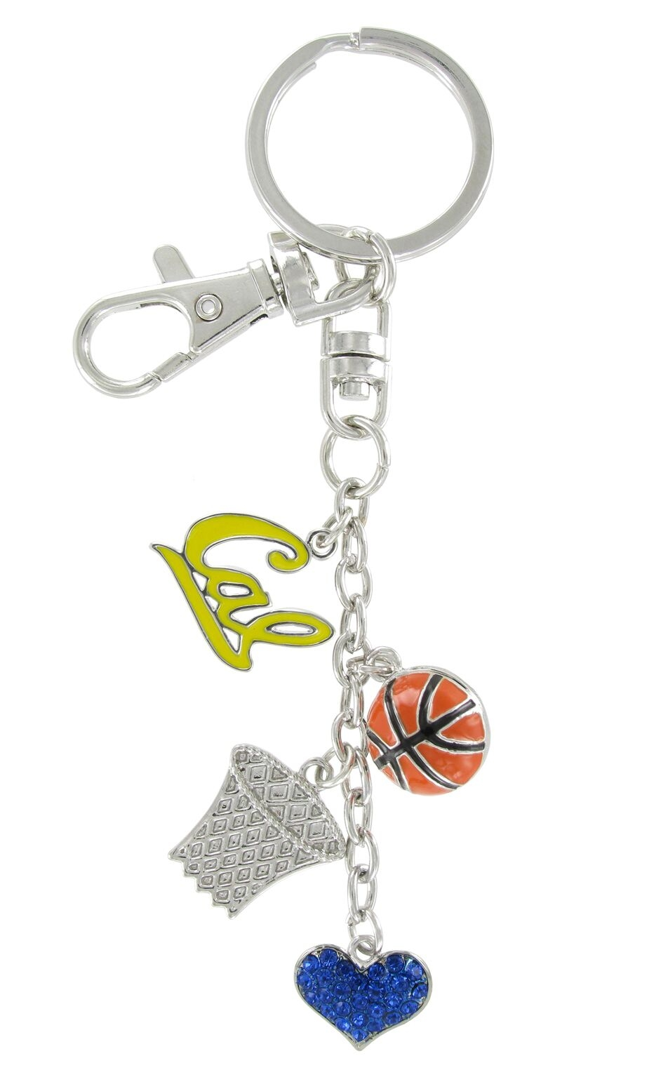 University of California Berkeley Enamel Basketball Combo Keychain