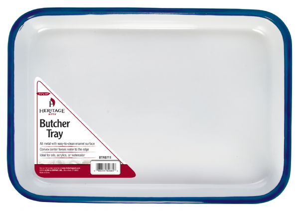 Butcher Tray Palette 7.5in x 11in