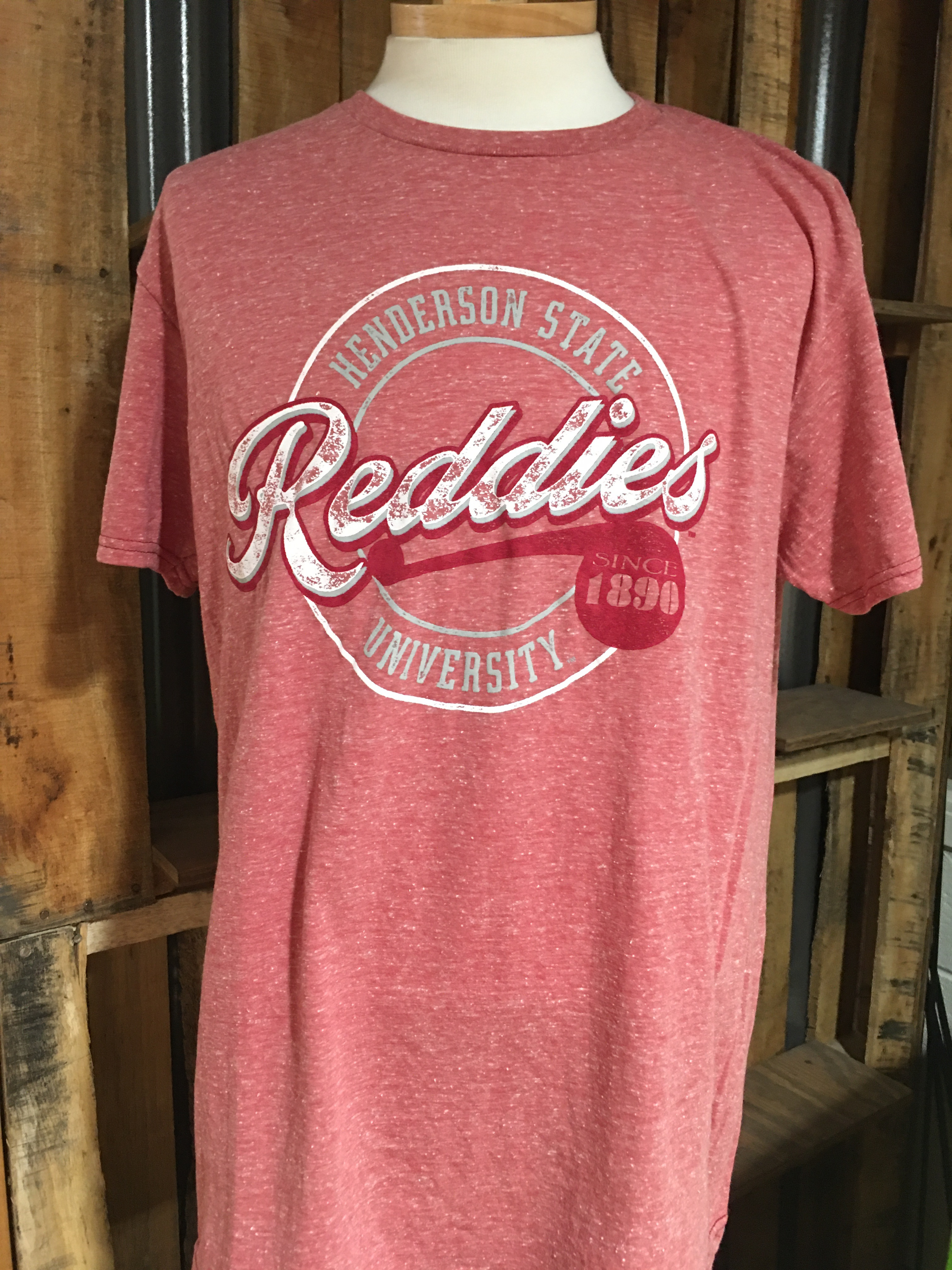 Henderson State University Reddies Since 1890 Short Sleeve T-Shirt