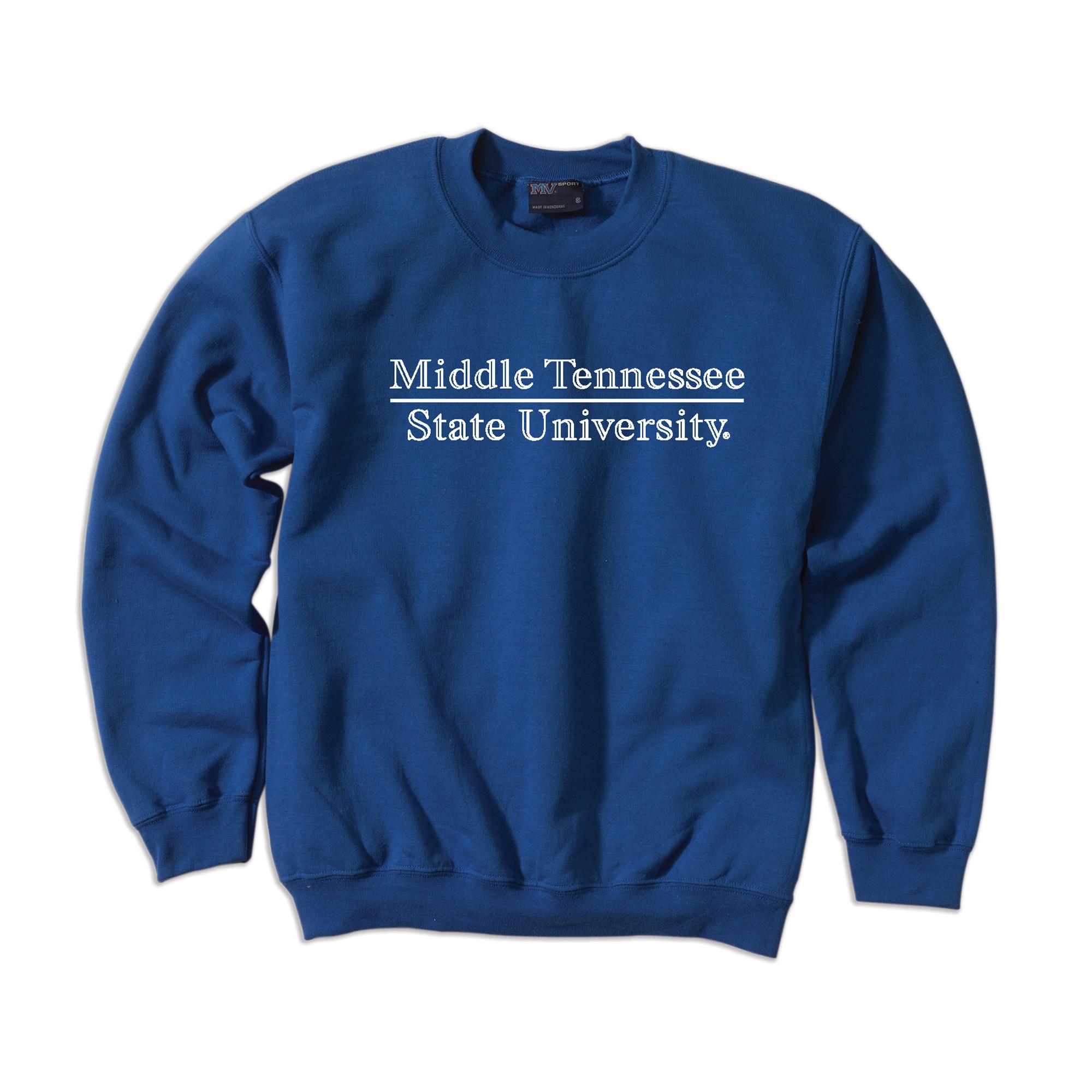 Middle Tennessee State University Comfort Fleece Sweatshirt