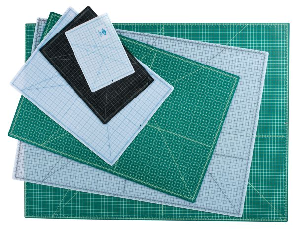 Green/Black Professional Self-Healing Cutting Mat 3.5 x 5.5
