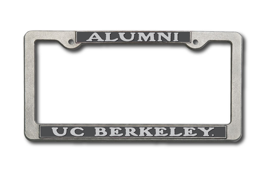 University of California Berkeley Alumni Pewter License Frame