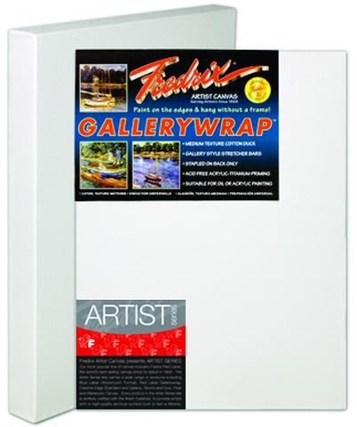 """Fredrix Gallery Wrap Canvas, 8""""x8"""""""