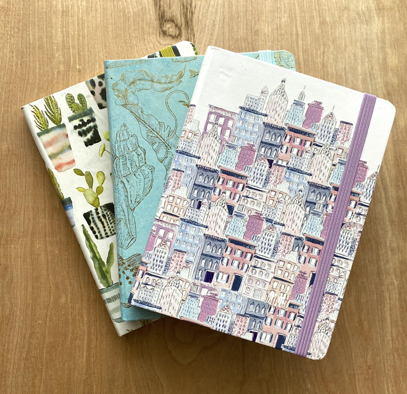 Lined Journals, Mid-Sized