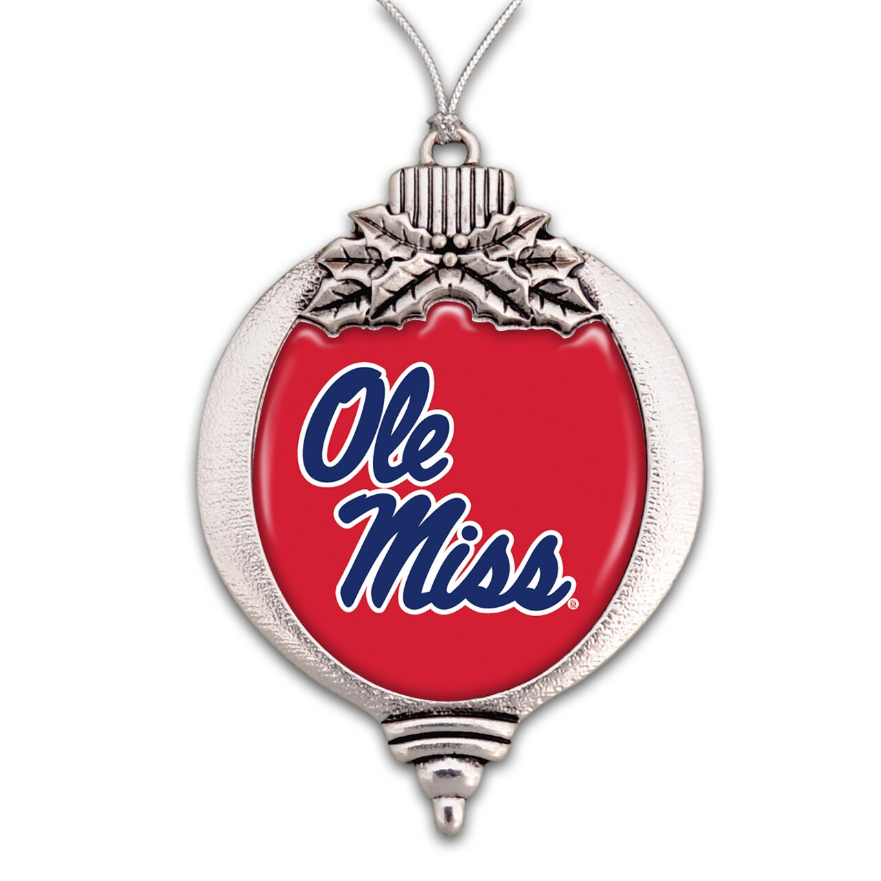 Ole Miss Bulb Ornament