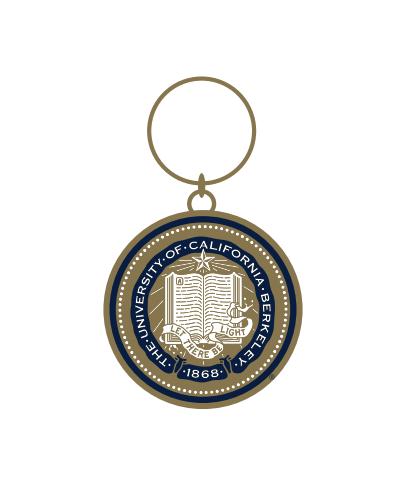 Cal Bears Berkeley Seal Keychain