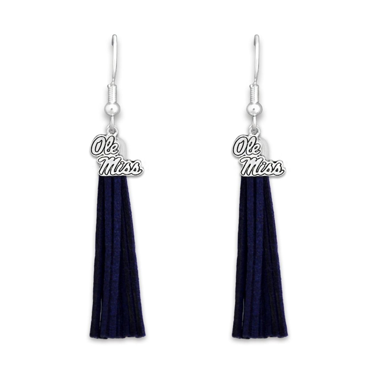 Logo Tassel Earrings