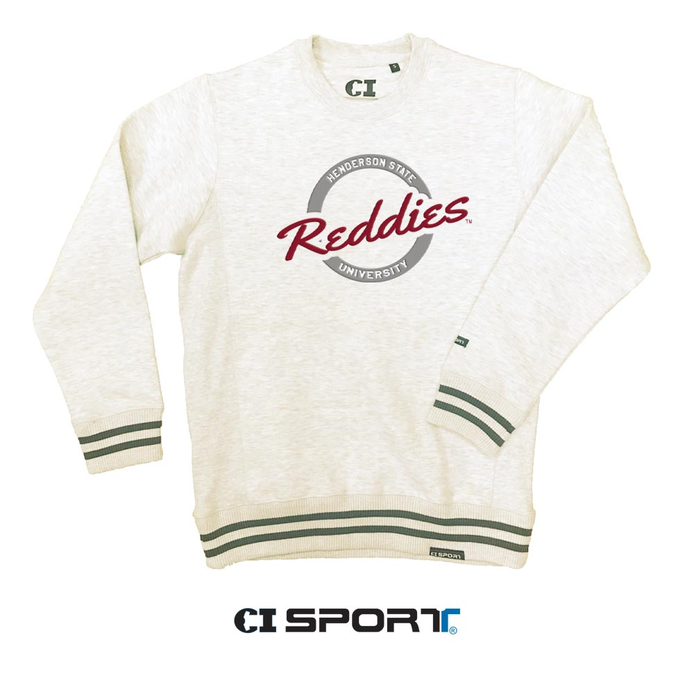 Henderson State University Reddies Varsity Classic Crew Sweatshirt