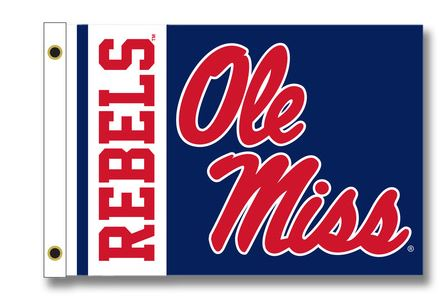 Ole Miss Tailgating Flag 28 x 40