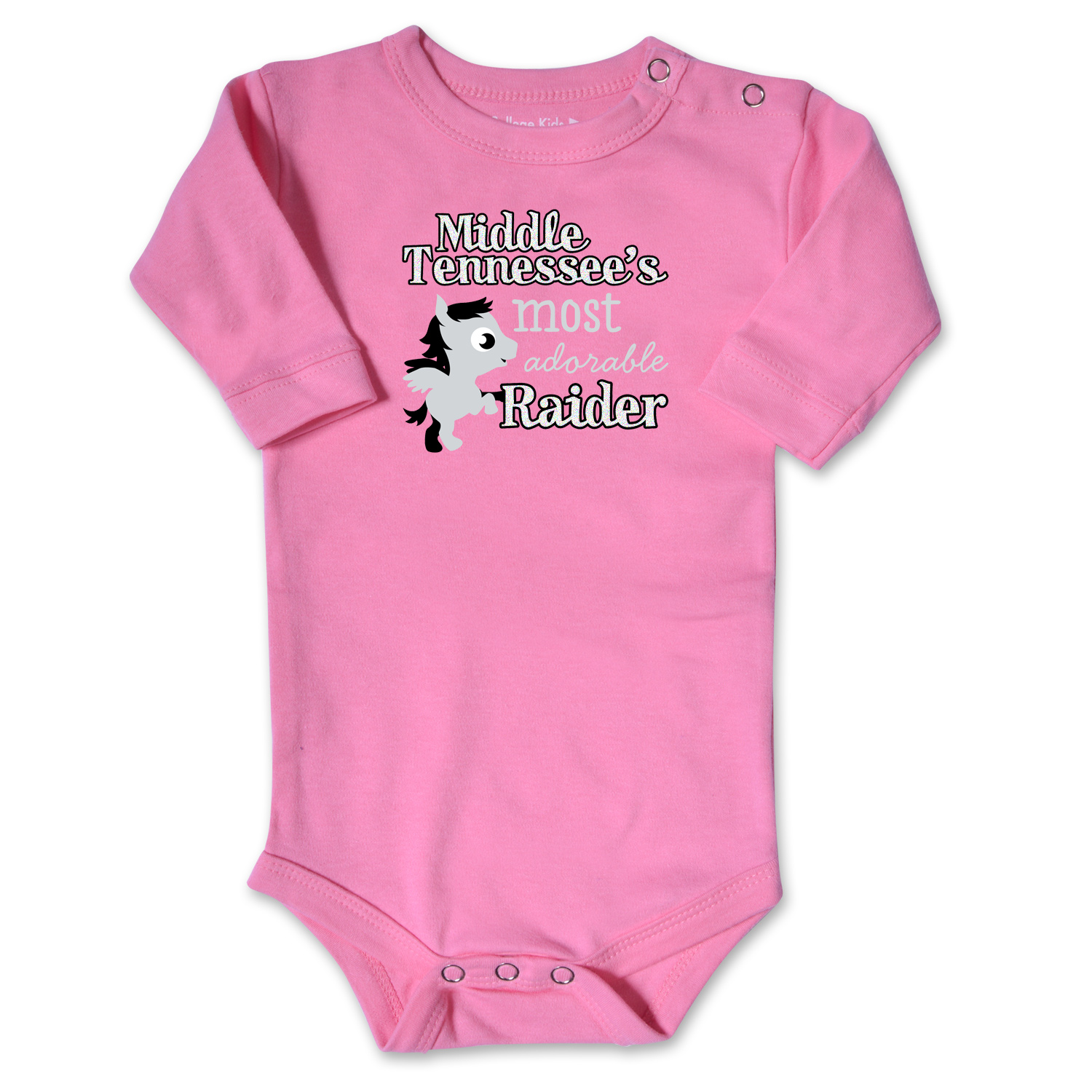 Middle Tennessee's Most Adorable Raider Infant Long Sleeve Onesie