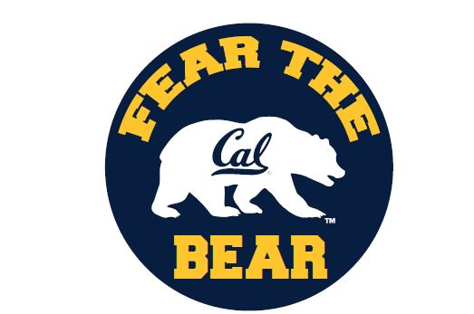 "Cal Bears 3.5"" Round Button Magnet"