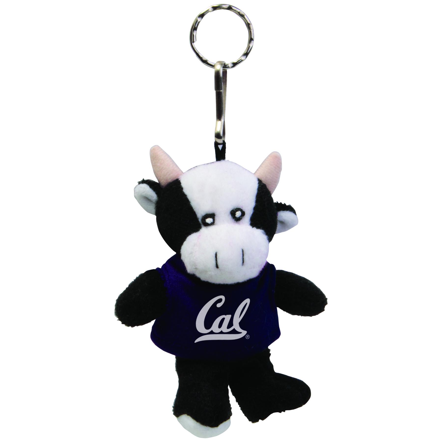 Cal Bears Cow Keychain