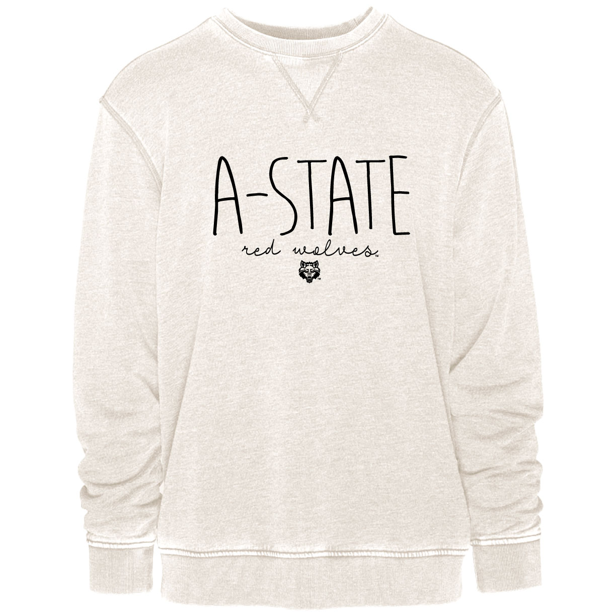 A-State Red Wolves Vintage Crew