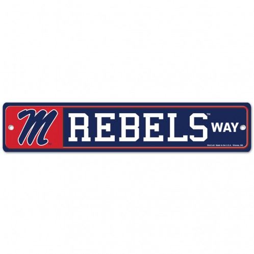 Rebels Way Street Sign 3.75 x 19
